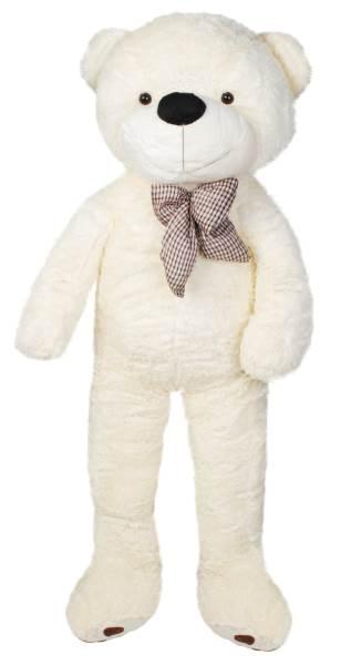 Velký plyšový medvěd bílý 160 cm2
