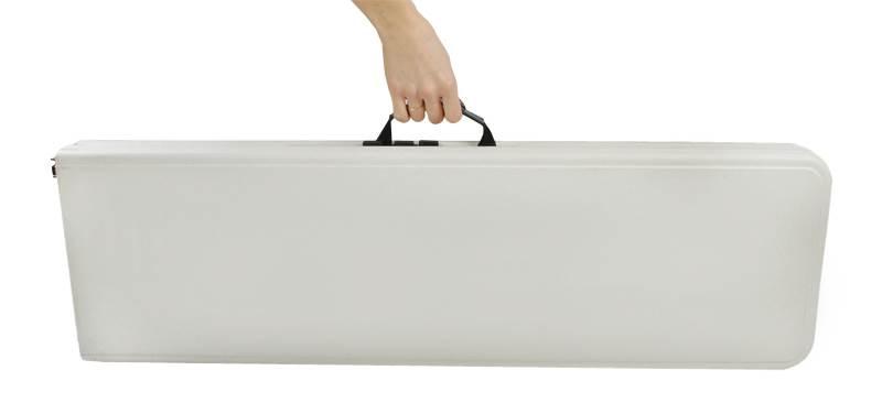 Malatec 3257 Pivný set plastový skladací 180cm biela14