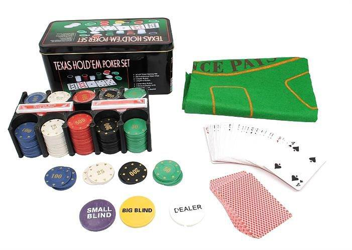 ISO Texas Hold'em Poker set