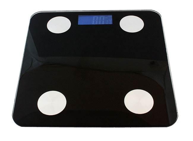 ISO 666 Analytická osobní váha Bluetooth 180 kg4