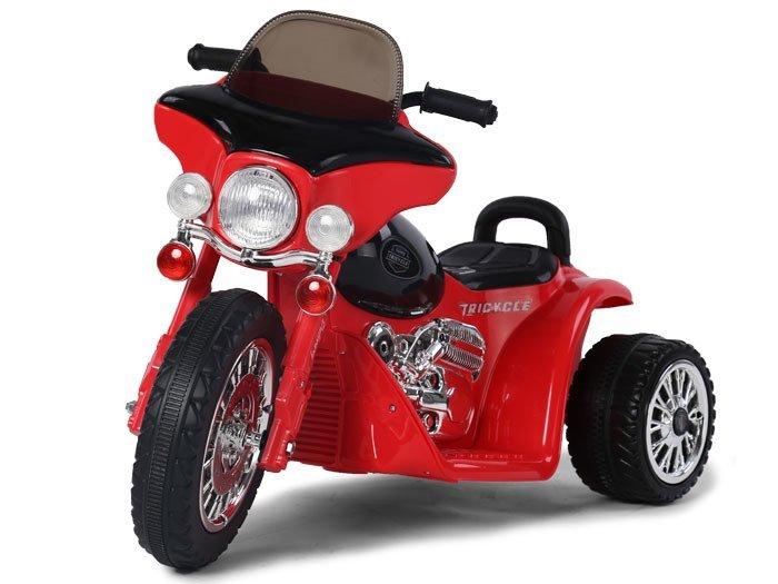 Joko PA0116 CZ Dětská elektrická motorka červená