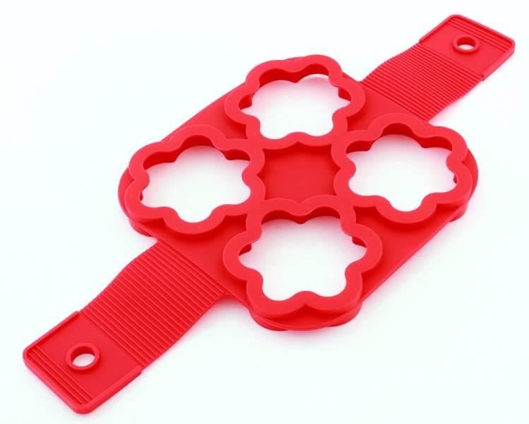 APT AG433C Silikonová forma na lívance, omelety hvězda3