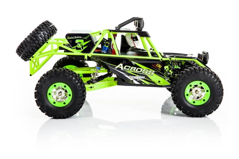 WL toys VODĚODOLNÁ Buggy 12428 1:12 zelená6