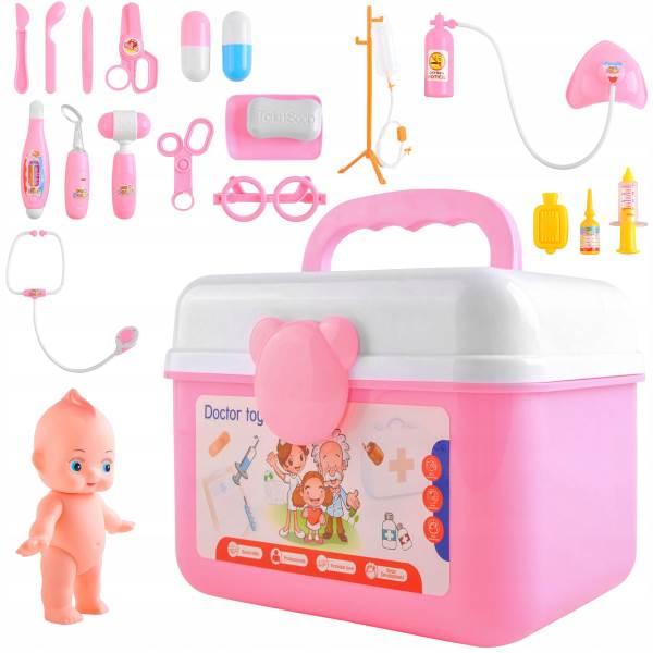 ISO 9511 Sada v kufríku malý doktor s bábätkom