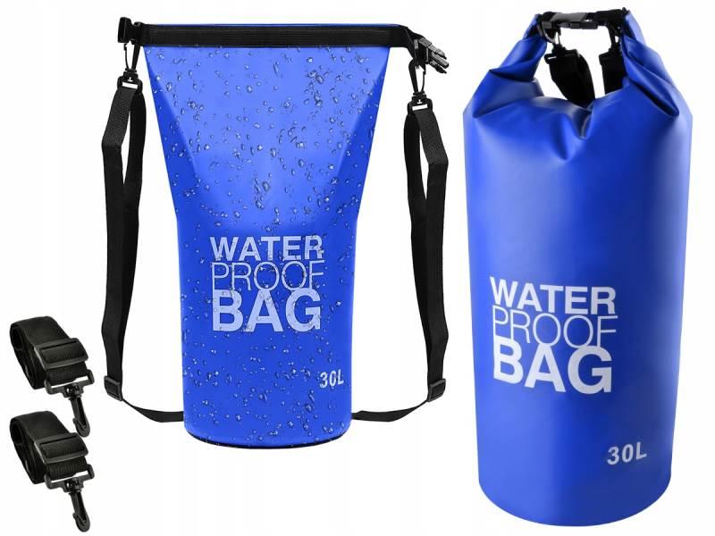 ISO 6820 Vak vodotěsný 30l 53 x 71cm modrá