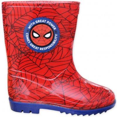 Javoli Holínky Marvel Spiderman červené vel. 27/28