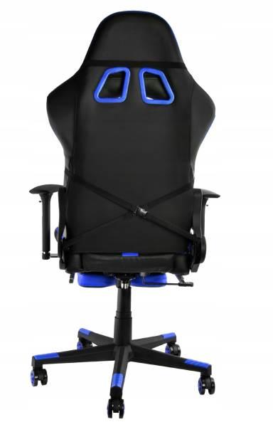 Malatec 6426 Herní židle černo modrá8