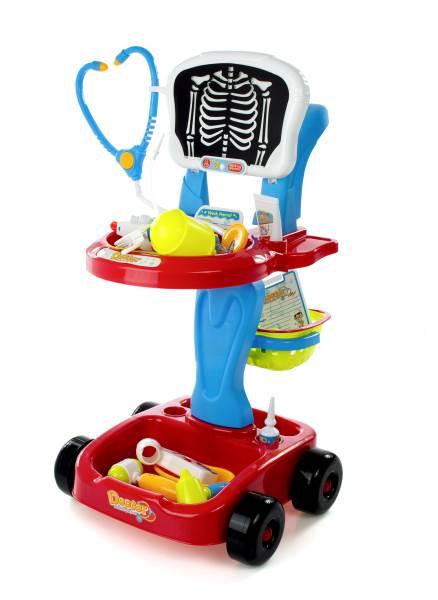 KIK KX7784 Lekársky vozík s röntgenom + doplnkami5