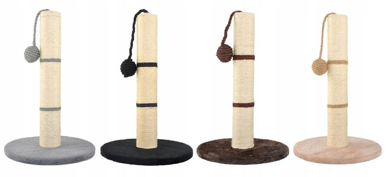 Malatec 7934 Škrabadlo sloupek s hračkou béžová 45cm