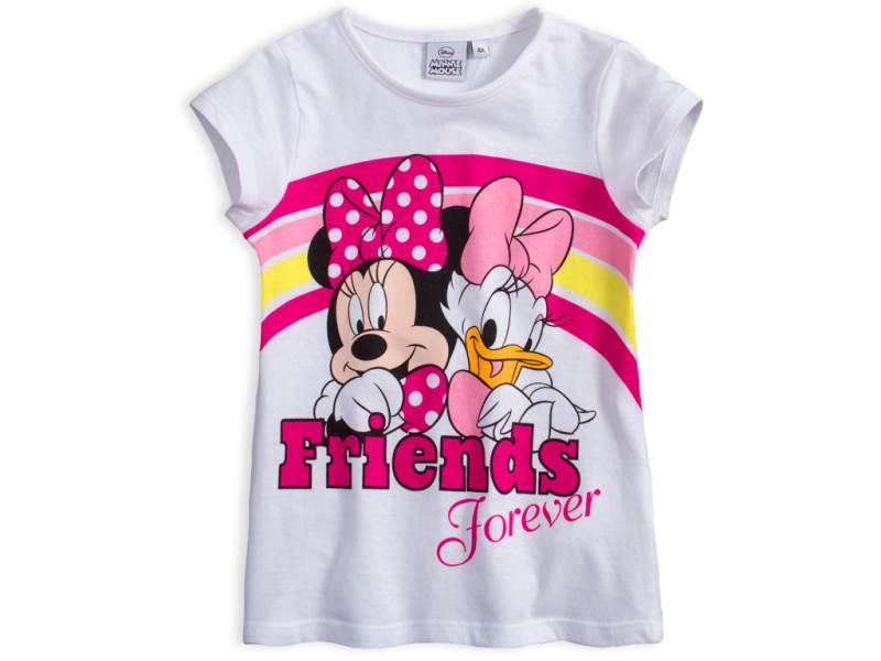 Javoli Detské tričko krátky rukáv Disney Minnie Friends veľ. 104 biele