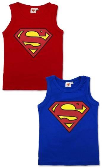 Javoli Detské tielko Superman veľ. 122 červené