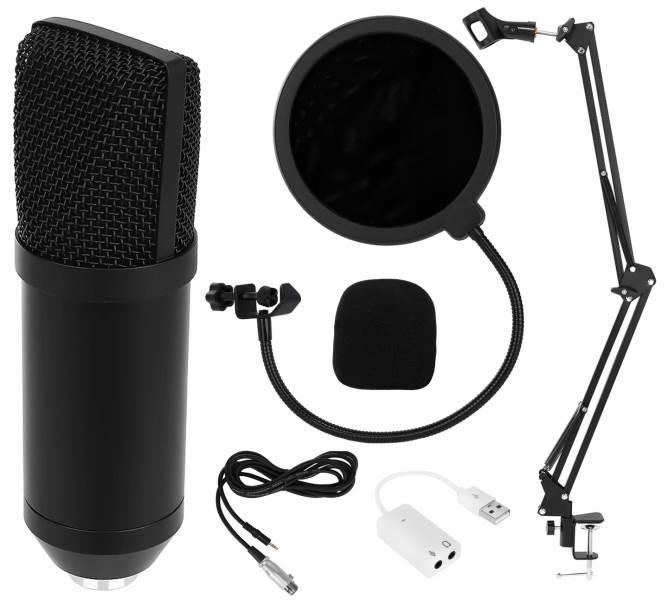 ISO 8957 Profesionálny štúdiový mikrofón pre náročných užívateľov so stojanom