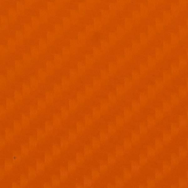 KIK Karbónová fólia 4D 10 x 152 cm oranžová