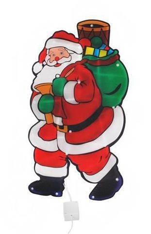 Svítící Santa Claus - 20 LED