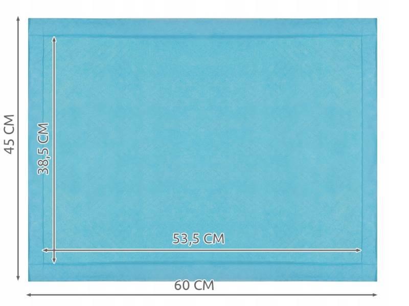 ISO 6679 Přebalovací podložky 60 x 45cm 50 ks2
