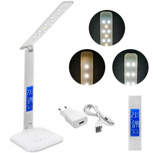 ISO 7964 LED stmívatelná stolní lampička s displejem 1.5W