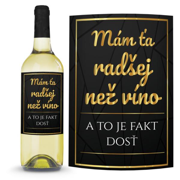Víno Radšej než víno 0,75l