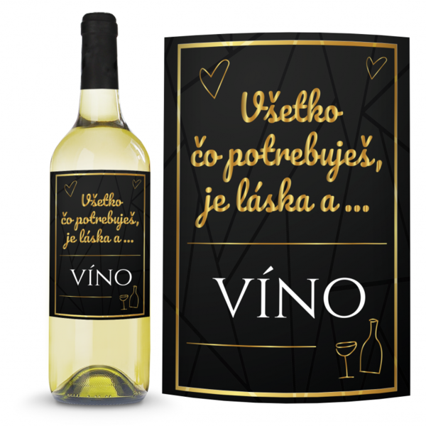 Víno Všetko čo potrebuješ 0,75l