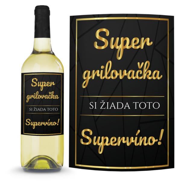 Víno Super grilovačka 0,75l