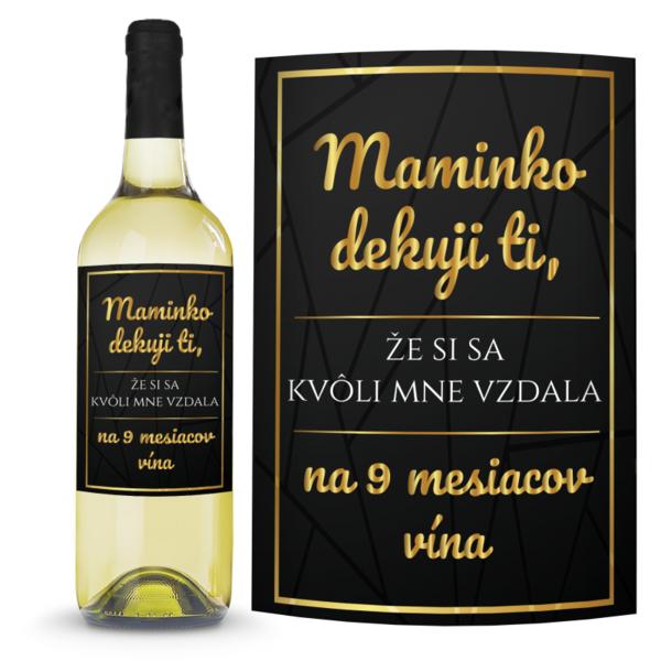 Víno Maminko 0,75l